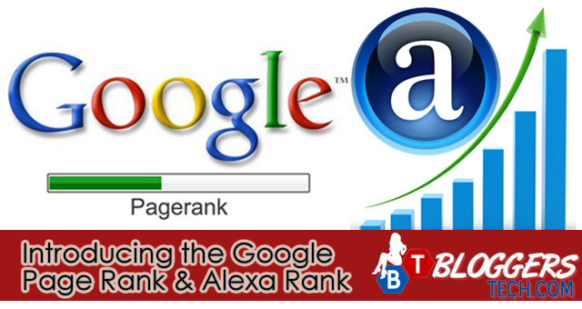 Introducing Google Page Rank And Alexa Rank