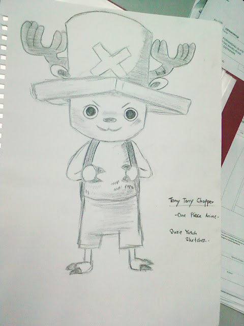 Tony Chopper Sketch