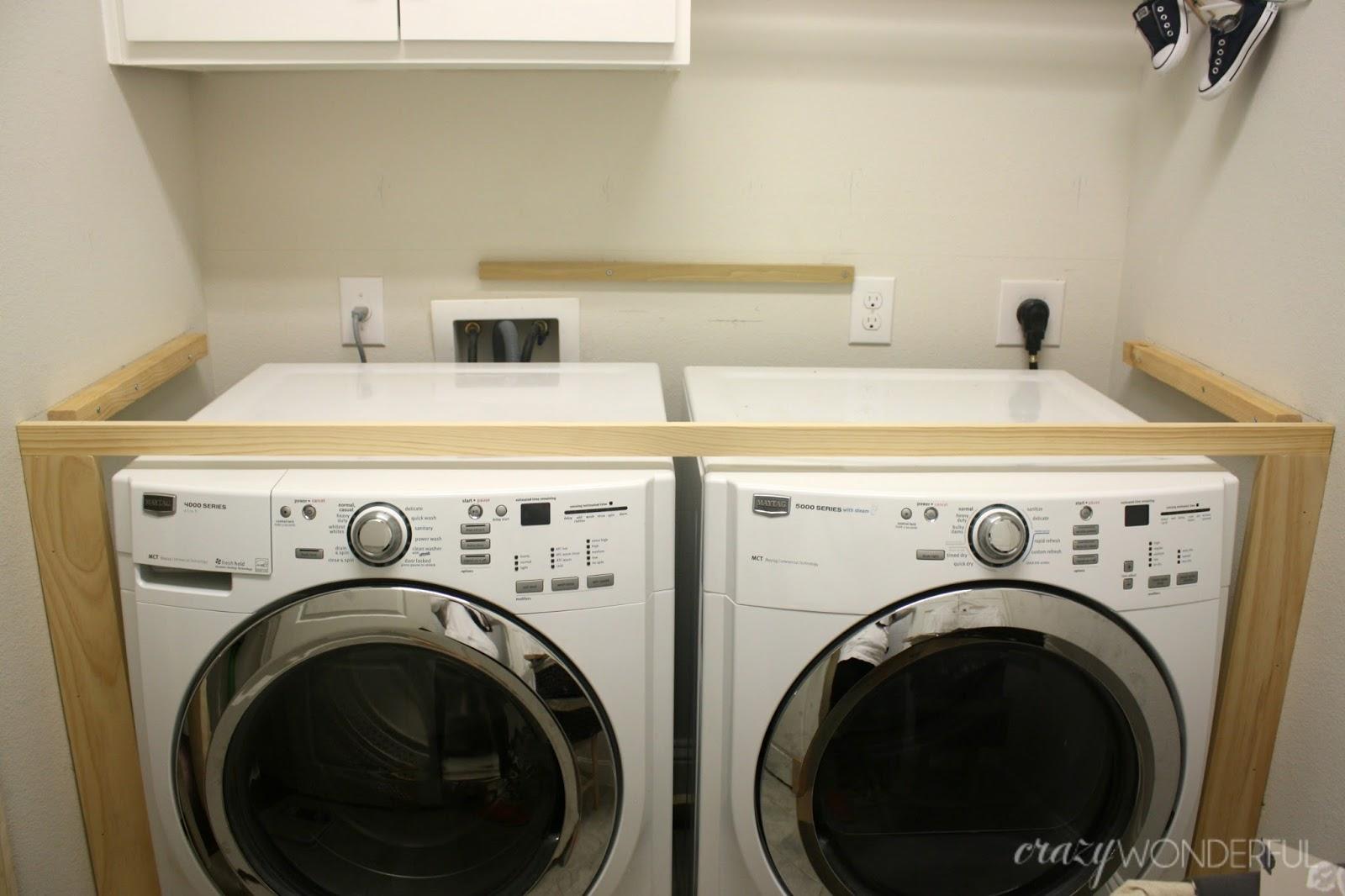 washing machine heights