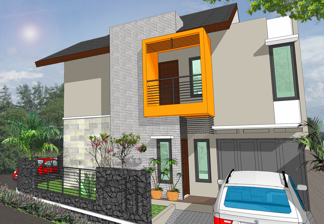 gambar model rumah minimalis