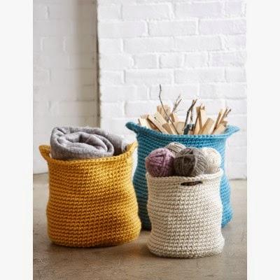 Free Crochet Pattern For Large Basket : Cute Crochet Chat: Cache Baskets Free Crochet Pattern ...