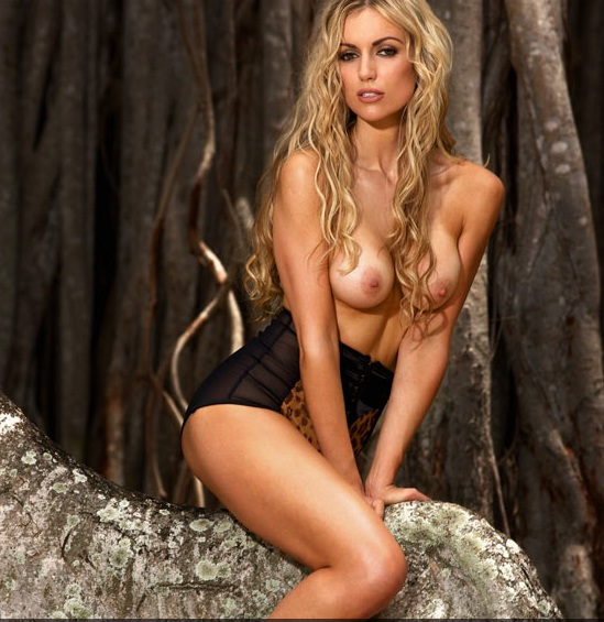 Rosanna Davison Bares All In Sizzling Topless Shoot For Playboy