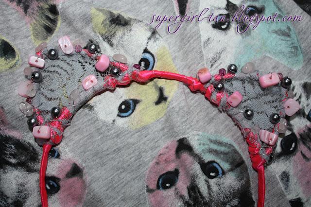 ободок с ушками кошки
