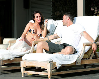 Megan Fox, Brian Austin Green, Transformers, Hawaii, Bikini, Pregnancy, Fox, Green