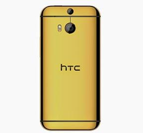 عرض الاتصالات السعودية على جوال HTC One M8 المطلى بالذهب
