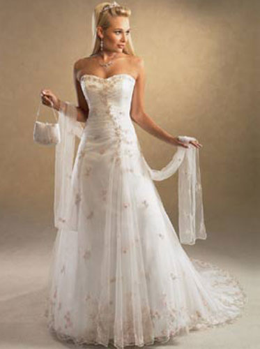 Fashion world my perfect wedding dress fashion world for How to find the perfect wedding dress