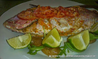 Red Snapper Baked - Pargo Horneado