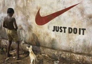 funny picture: nike just do it