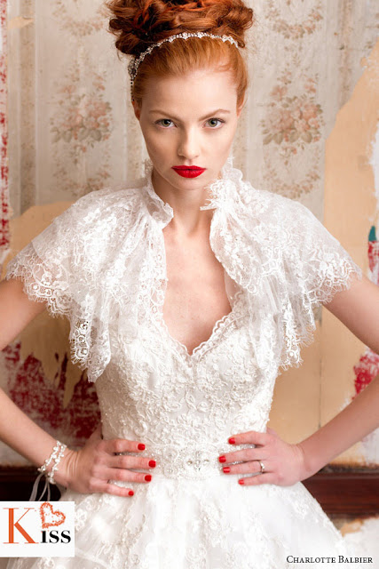 2014 Vintage Wedding Dresses From Charlotte Balbier