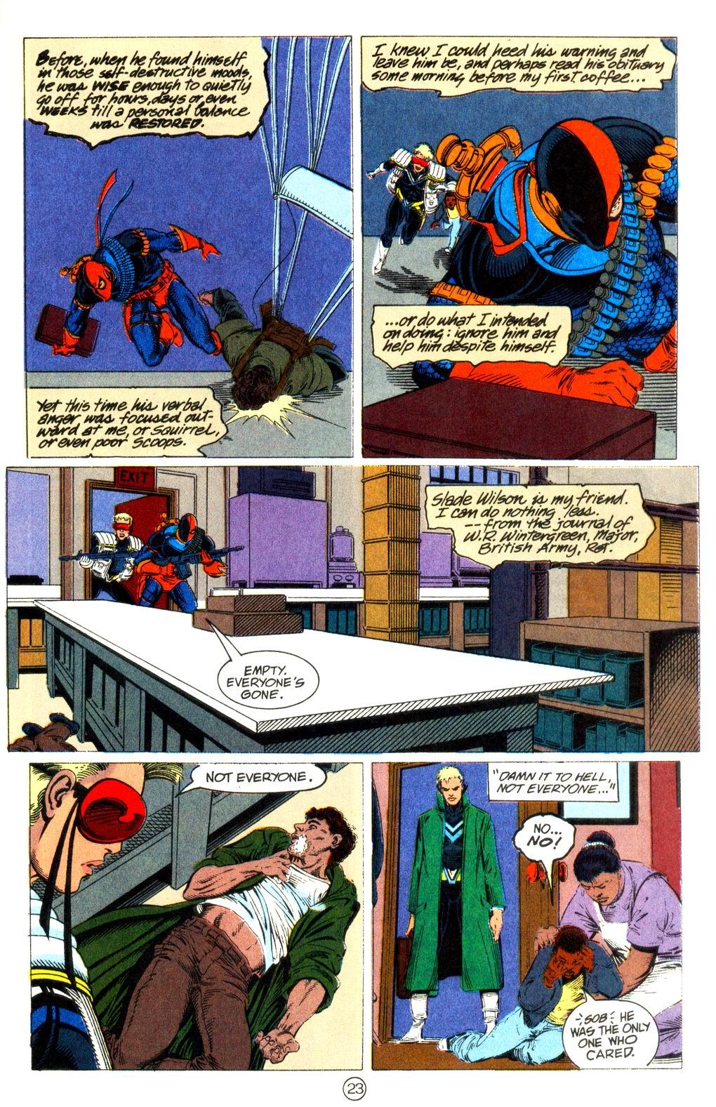 Deathstroke (1991) Issue #11 #16 - English 24