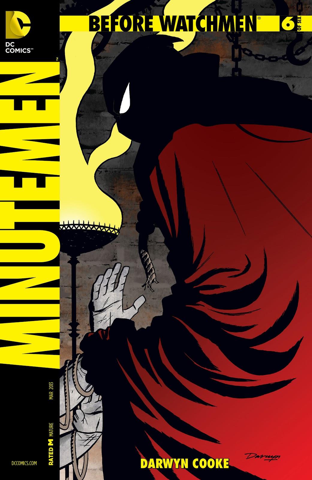 Before Watchmen: Minutemen issue 6 - Page 1