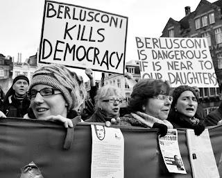 Les italiennes avaient déjà protesté à Amsterdam