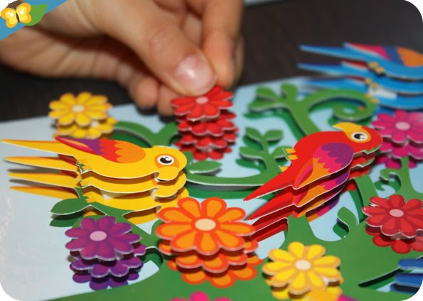 Tableaux 3D Arbres à oiseaux de Sentosphère
