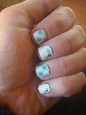 Christmas nail wraps