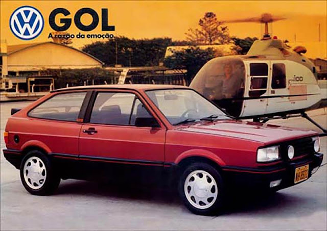 VW Gol GTS 1989 - R$ 104.600 reais