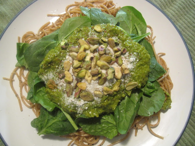 Spaghetti with Avocado Sauce