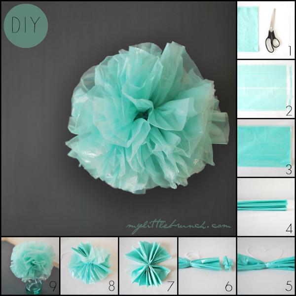 Diy como decorar horquillas para fiestas en 2 minutos - Como hacer pompones para decorar fiestas ...