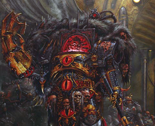 Horus - Horus Heresy artwork by Adrian Smith