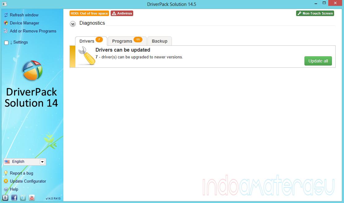 DriverPack Solution 14.5 R415 ~ Solusi Driver Untuk Berbagai Merek Hardware Komputer