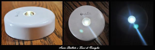 luce led rotonda Oxyled