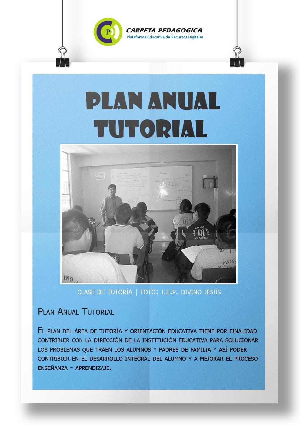 Plan de Tutoría Anual (6° Grado de Primaria)