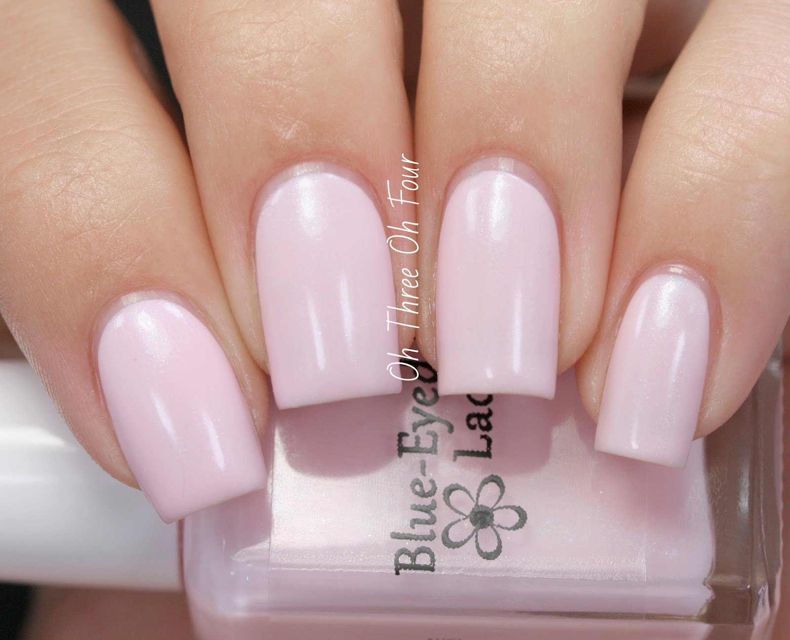 Blue-Eyed Girl Lacquer Cherry Blossom Swatch