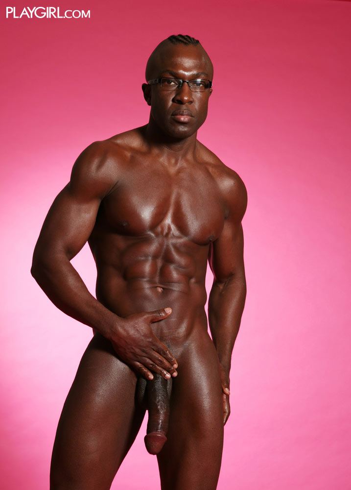 pictures of black naked men