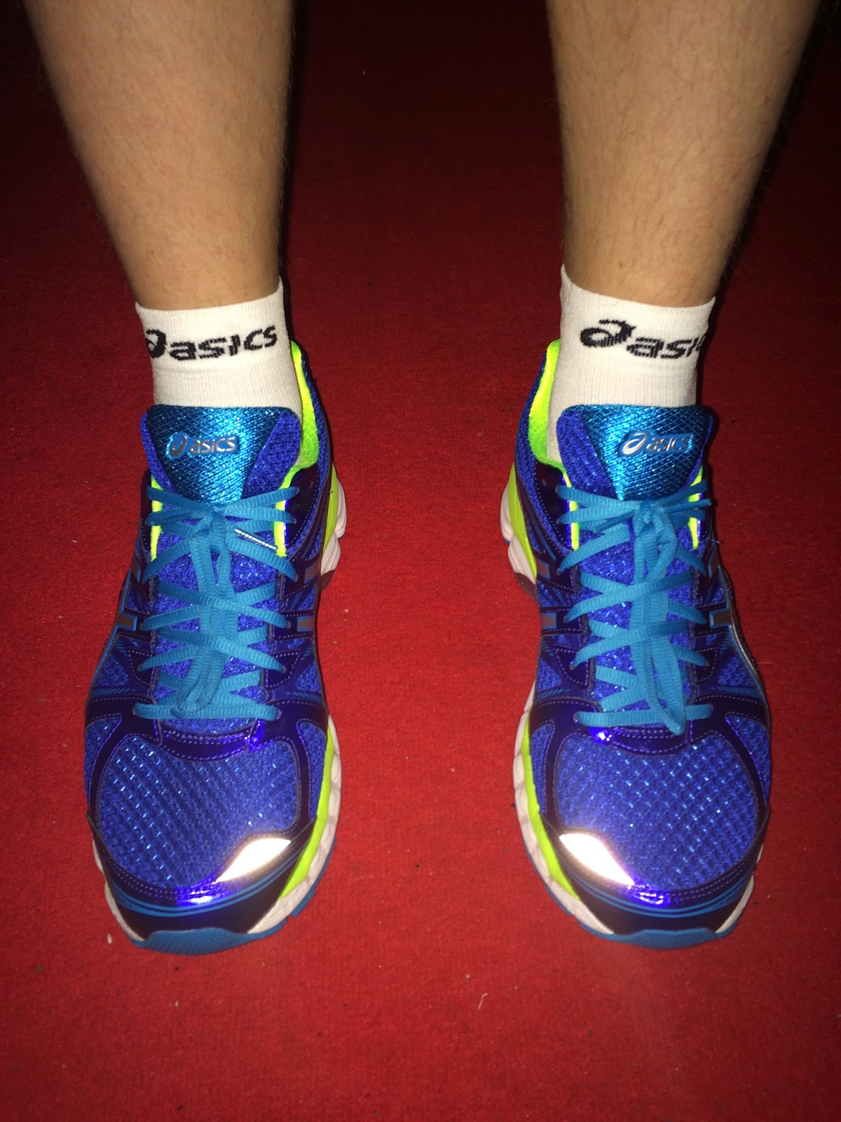 asics gel glorify test