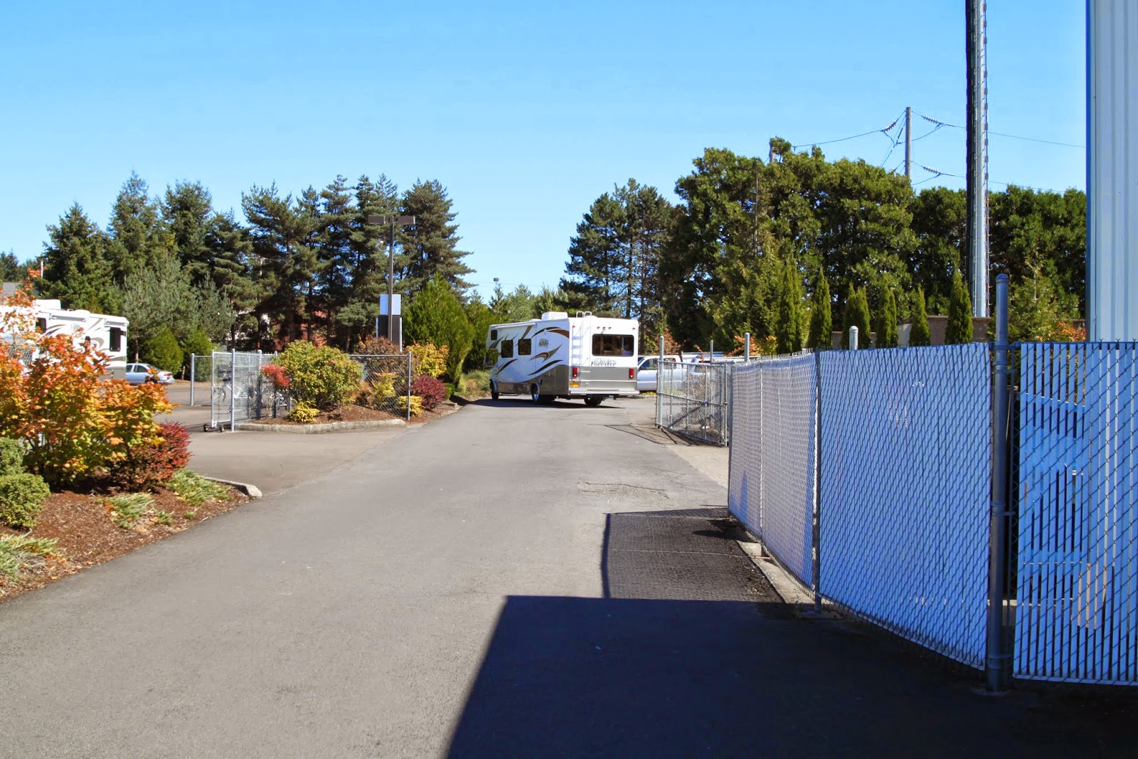 leaving RV's To Go in Wilsonville, OR