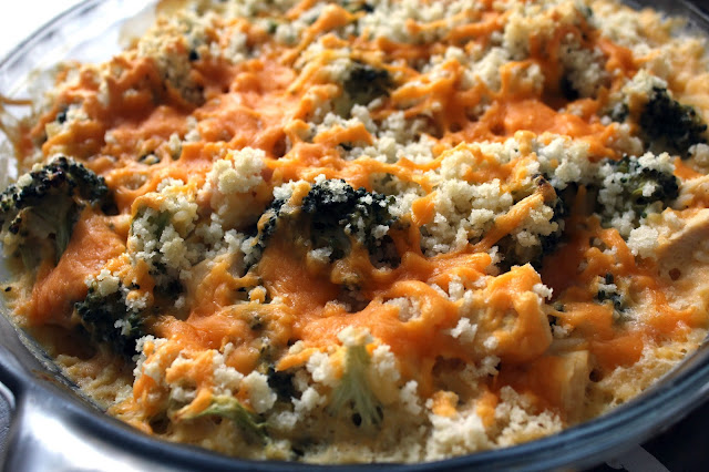 Cheesy Chicken Broccoli Casserole by freshfromthe.com