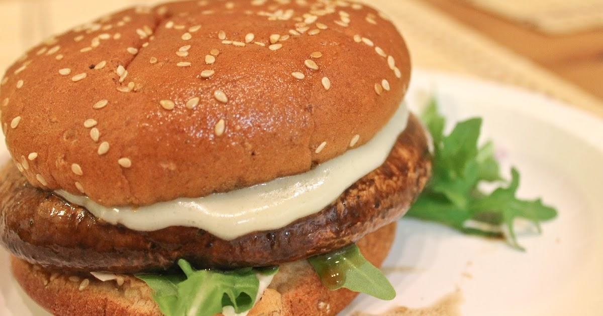 Cook~Love~Craft: Portobello Mushroom Burger Recipe