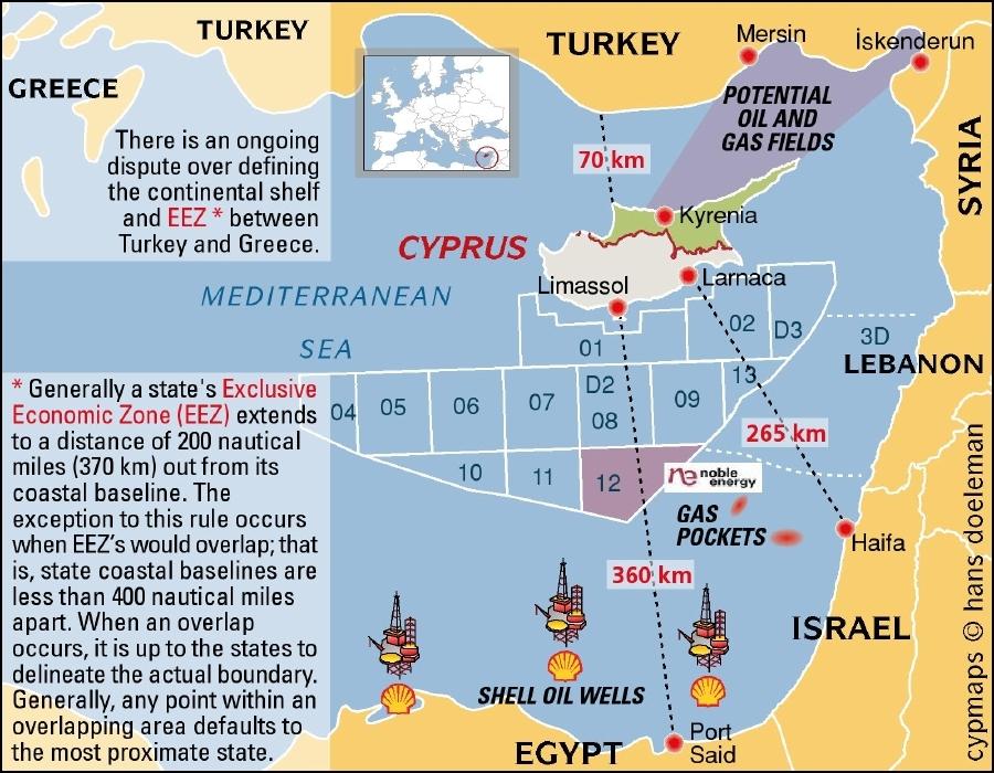 Поле битвы Восточное Средиземноморье: в воздухе запахло газом