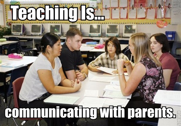 communicating with families teacher 2018-6-12  promoting family engagement: communicating with  as a preschool teacher, you must help families understand their child's development and share with them.