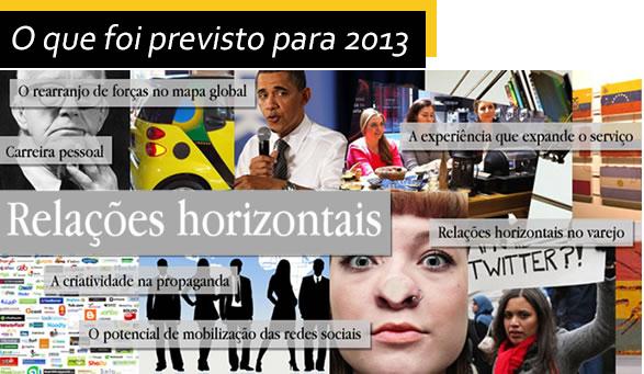 Comportamento de consumo: apostas e confirmações para 2013