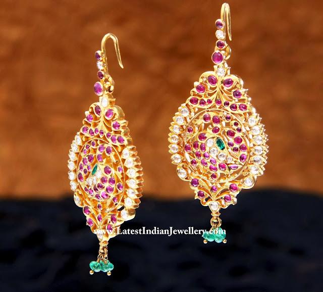Hoop Style Heritage Gold Eardrops