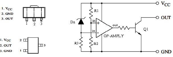 Hình 10 - IC tạo ra tín hiệu Reset khởi động CPU