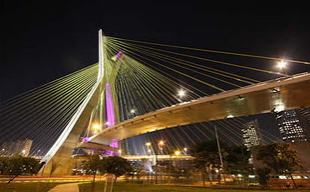 Jembatan Oliveira (Jembatan kabel berbentuk X pertama di dunia) Brazil