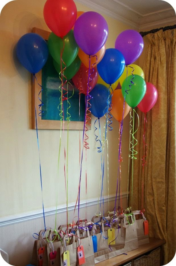 decoracin con globos para cumpleaos infantiles fiestas infantiles