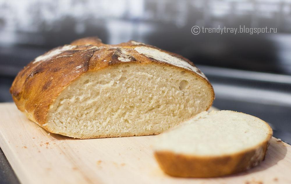 Домашний хлеб на сыворотке
