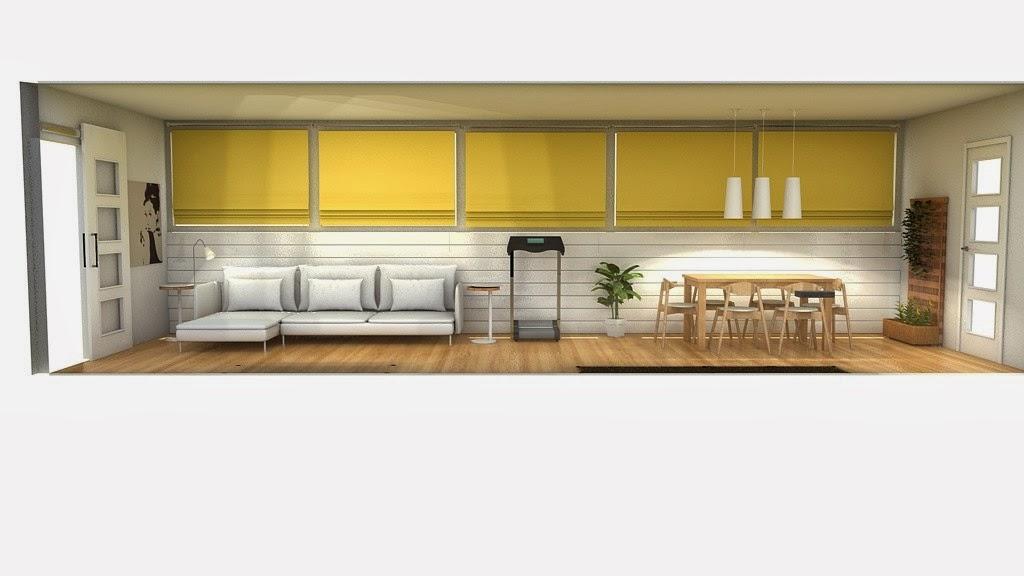 La maison 17 decoraci n interiorismo proyecto cerramiento de terraza en tico - Alicatar encima de azulejos ...