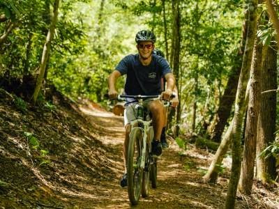 Leisure mountain bike trail at Climbworks