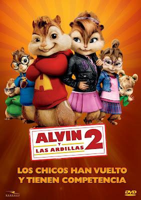 Alvin y las Ardillas 2 – DVDRIP LATINO
