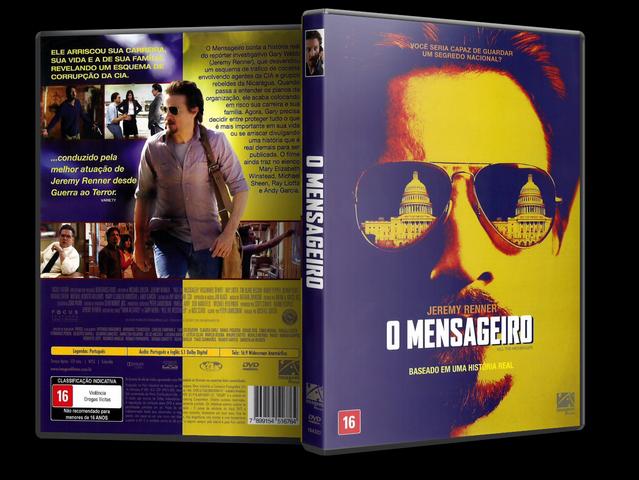 Capa DVD O Mensageiro