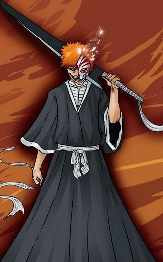 Wallpaper Hollow Mask Ichigo