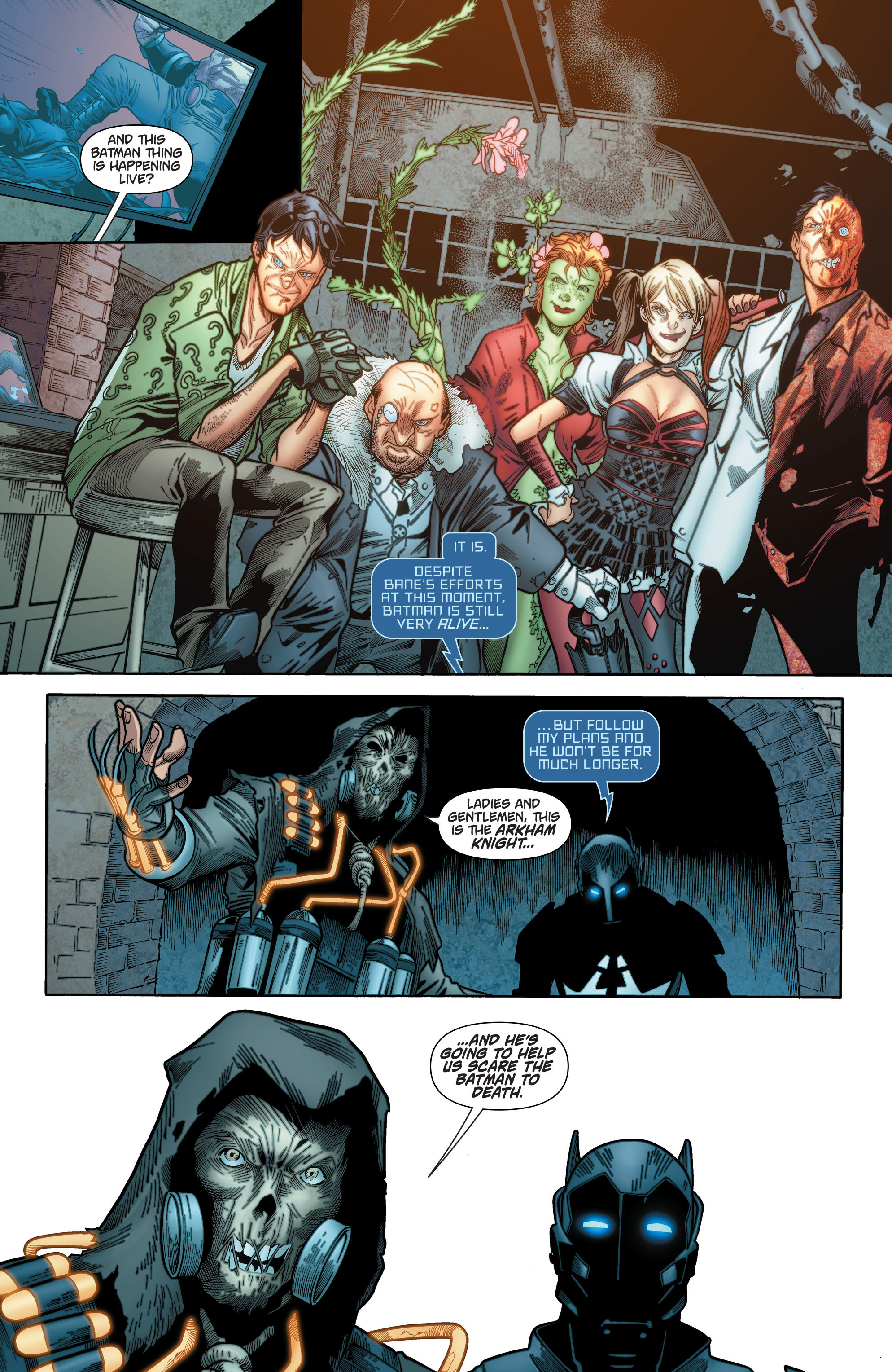 Batman: Arkham Knight [II] Issue #12 #15 - English 12