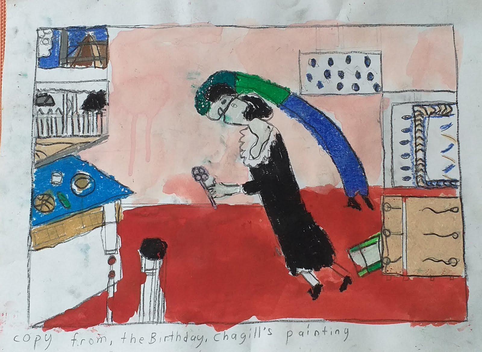 Birthday Marc Chagall 1887