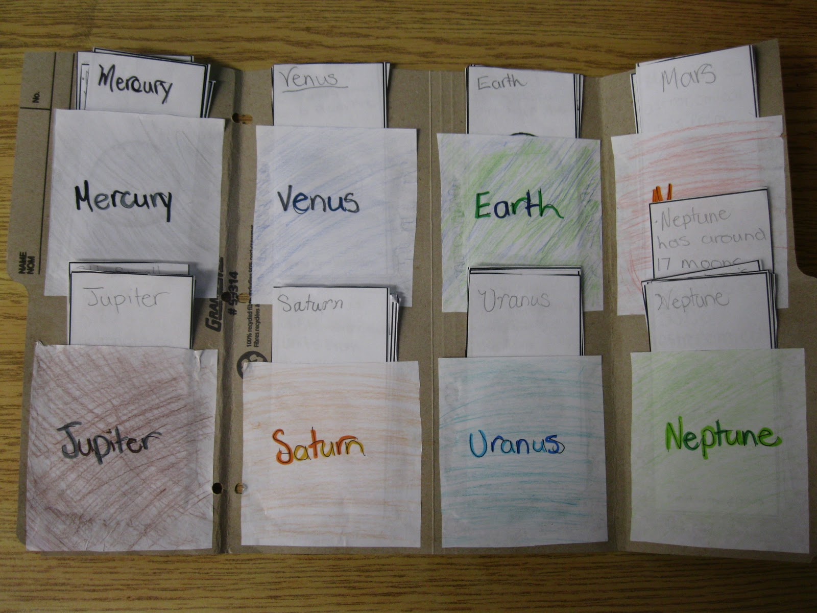 solar system foldable notebook - photo #40