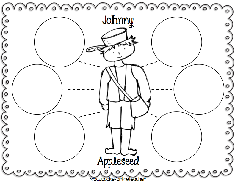 Johnny Appleseed Paper Hat Template http://littlemissglamourgoestokindergarten.blogspot.com/2012/09/fall-fun-and-cookies.html