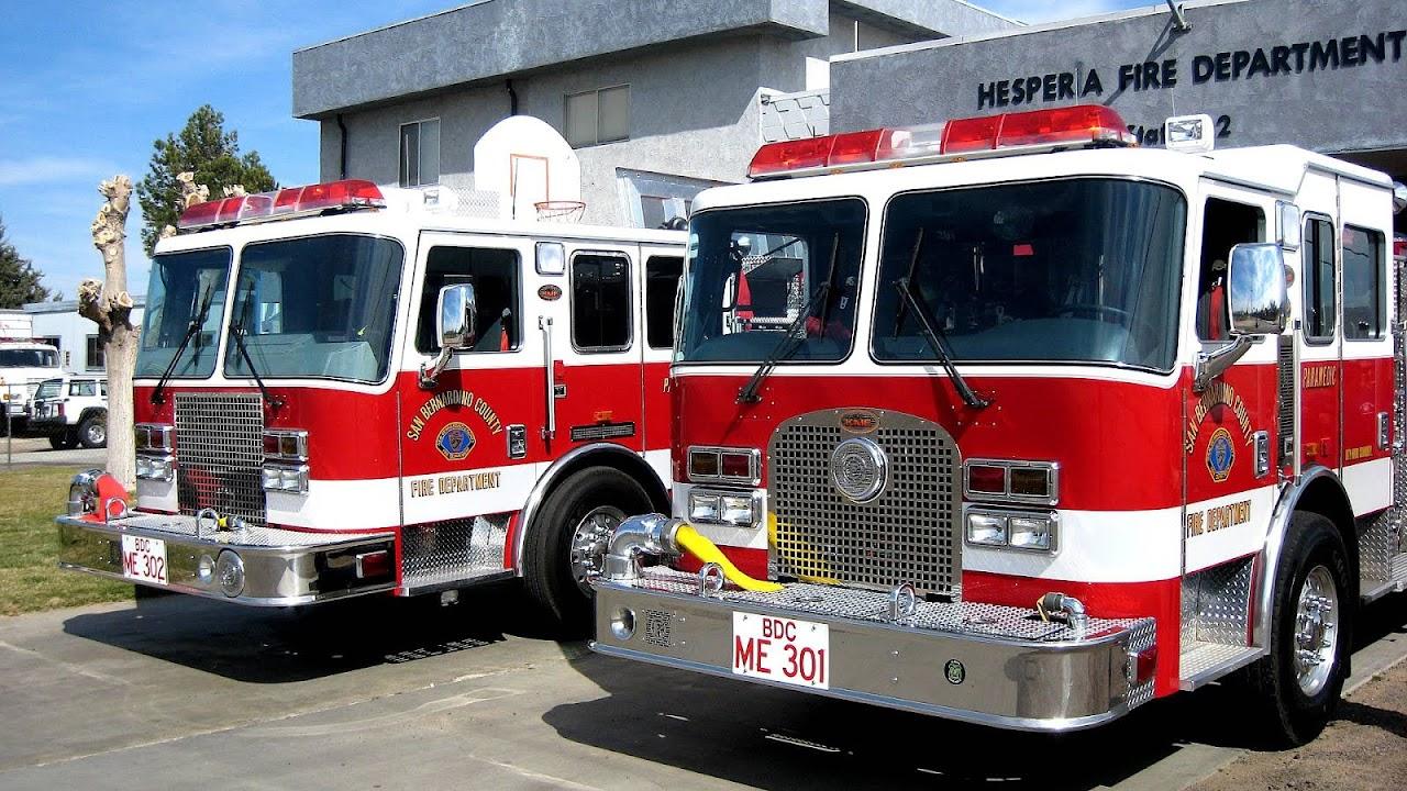 San Bernardino County Fire Department Fire Choices