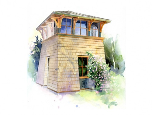 lloyd s blog tower studio small house plans